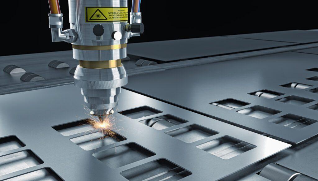 Laser cutting machines - metal