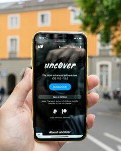 Uncover app for jailbreaking