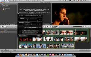 iMovie for video editing