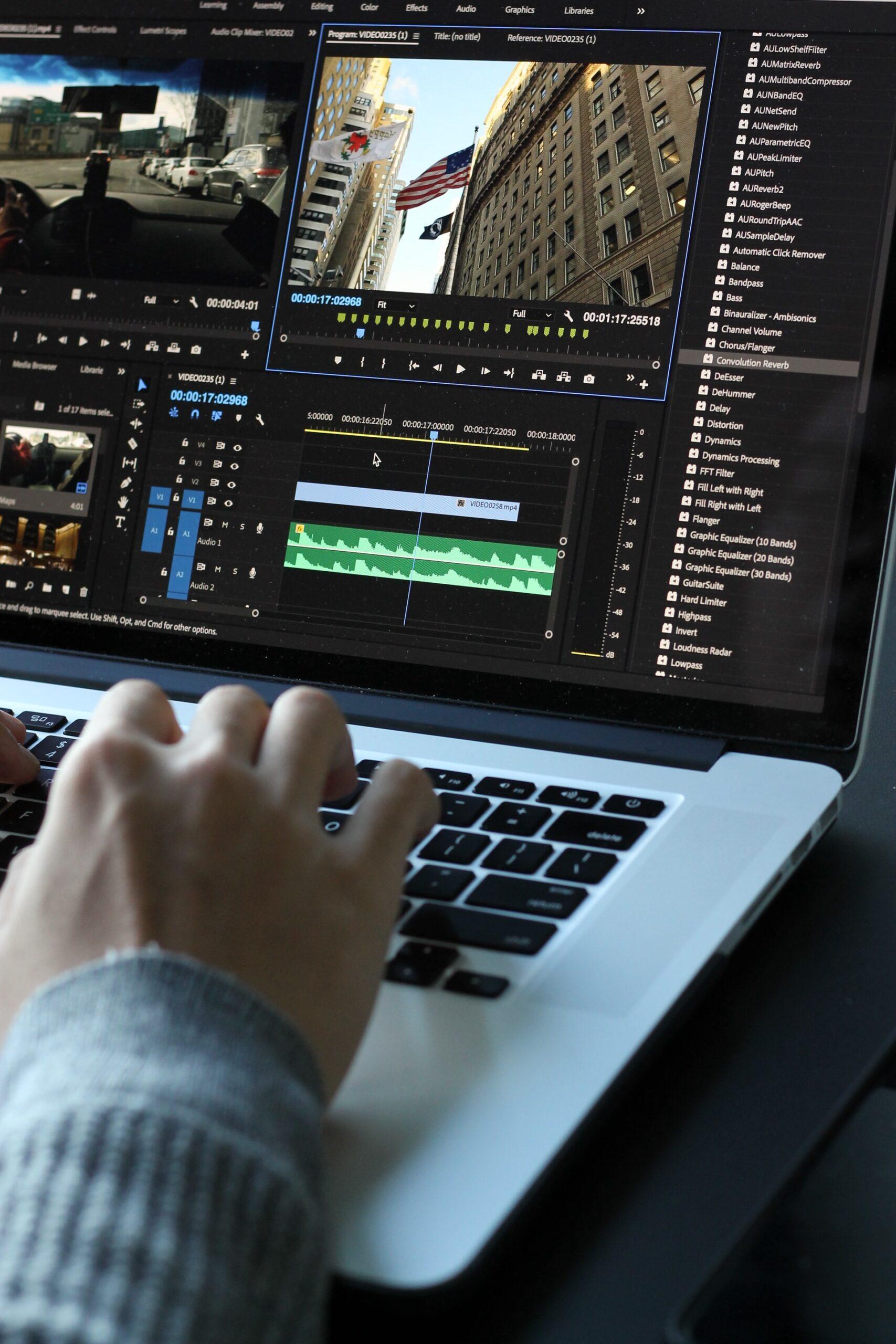 Editing on mac